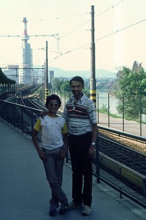 Wien sommar 1982