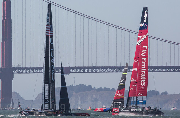 San Francisco hosted the America's Cup in 2013