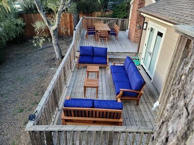 2021-02-21  New Deck Furniture for Carmel