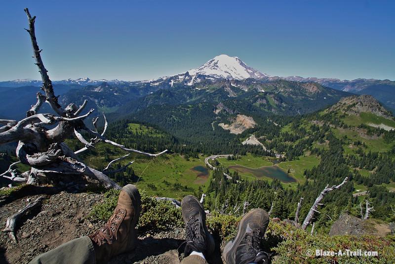 Mt. Rainier NP - Chinook Pass / Naches Peak Hike