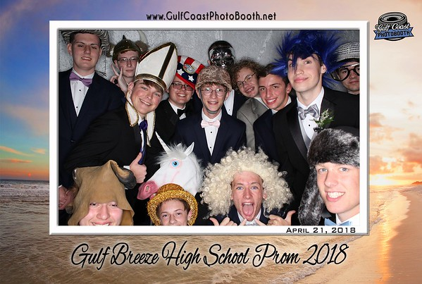 Gulf Breeze High School Prom 2018