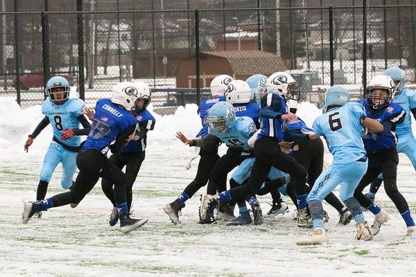 Football QSC Pop Warner V South Philly Tarheels 11.18.18