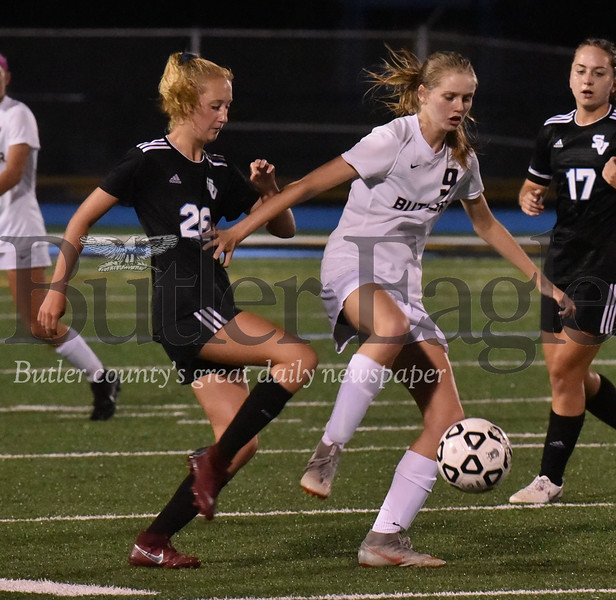 Seneca Valley vs Butler WPIAL Class 4A girls soccer  game at Nextier Stadium