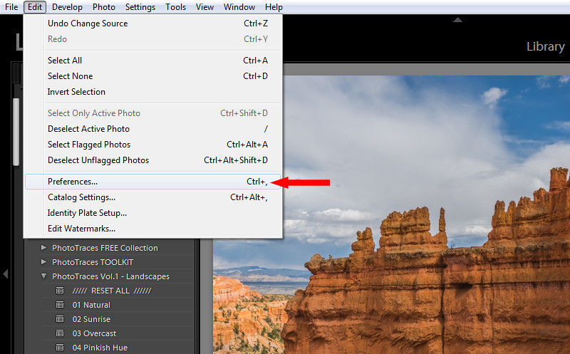 How to Locate the Lightroom Presets Folder
