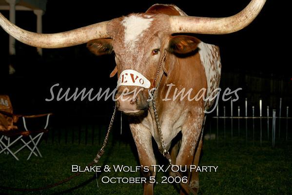 Blake & Wolf's OU Party 2006