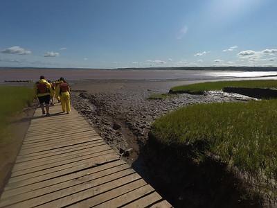 Tidal Bore - Bay of Fundy 2017
