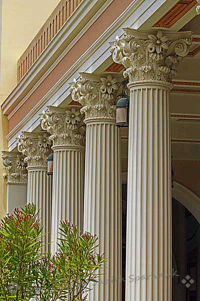 Getty Villa Detail