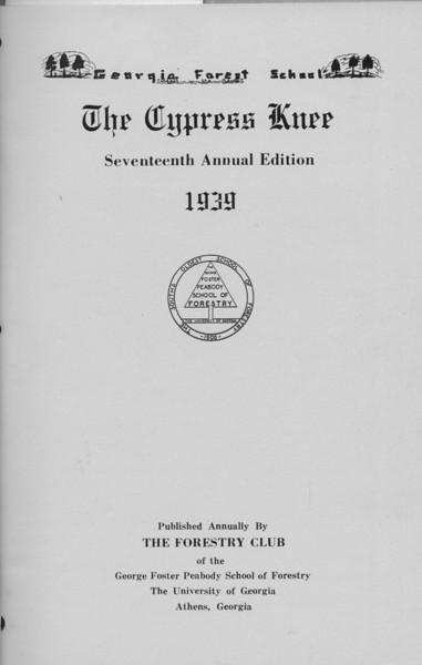 1939 Cypress Knee