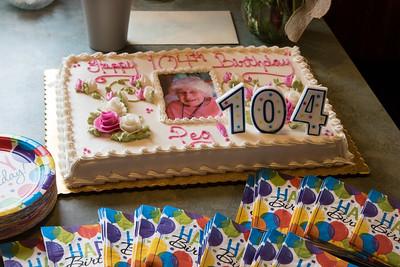 Gammy 104th birthday