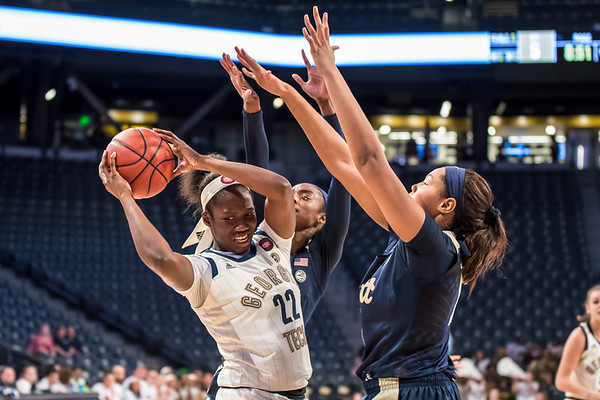 2019 Ga. Tech women vs. Pitt, 2-7-19