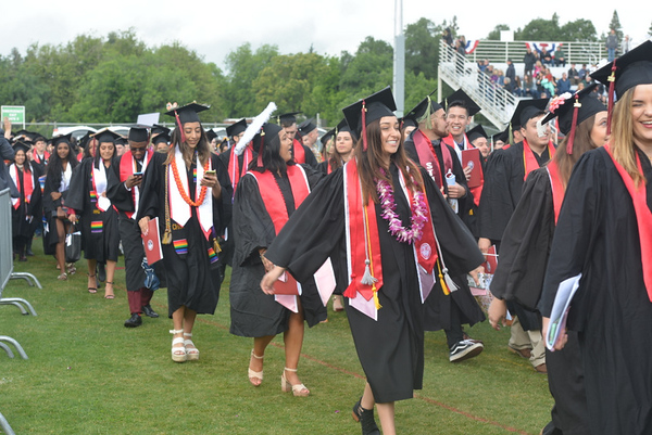 Chico State Commencement Ceremony 5-19-2019