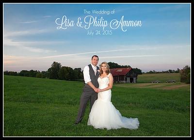 Chapman-Ammon Wedding