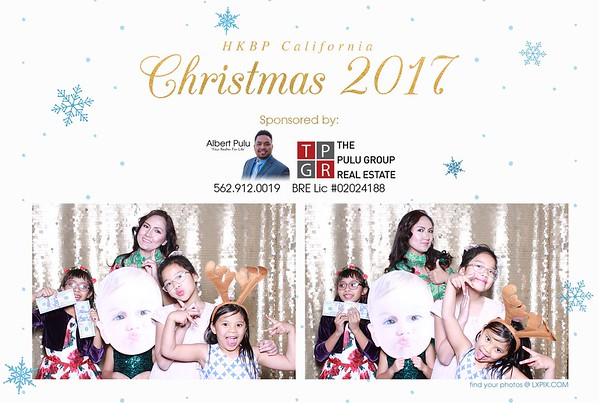 HKBP California Christmas 2017 - sponsored by The Pulu Group Real Estate prints