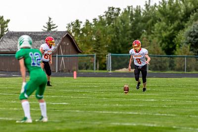 GFW JV Football vs Maple River 091018