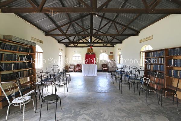 UGANDA, Mbale District, Nabugoye Village. Moses Synagogue. Abayudaya Jews. (8.2013)