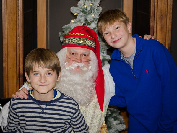 Dec. 4, 2016 Portraits with Santa