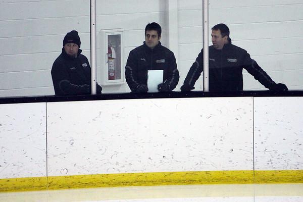 Bridgton Academy Hockey vs. Baniff Prep Nov 29, 2008 @ Tilton Tournament