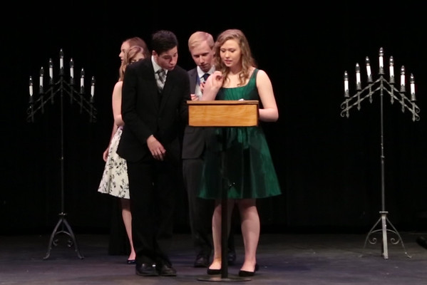 2017 BHS Thespian Induction awards