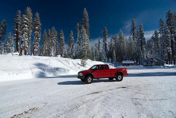 Snow Trip to Huntington Lake, 12-14-2009