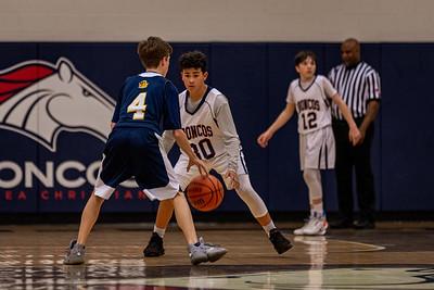 BACS JV Boys Basketball 01.16.20