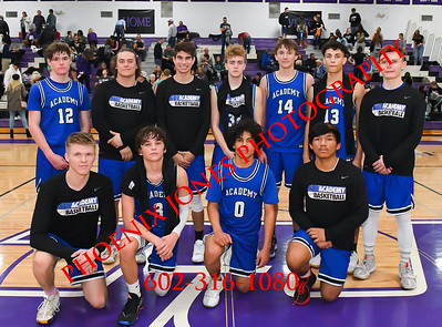 1-9-2020 - NCS v Kingman Academy - Boys Basketball