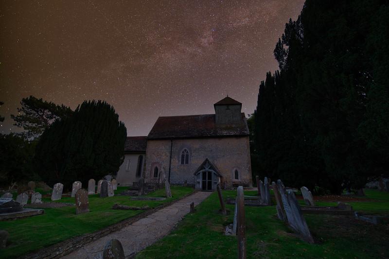 Clayton Church under the Milky Way.jpeg