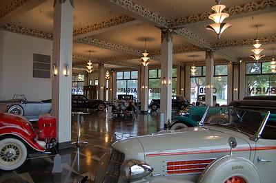 Auburn, Cord, Duesenberg Museum in Auburn, IN