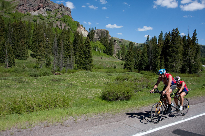 The big climb in NM offered lots of great shots.