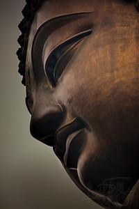 Tian Tan Buddha. Ngong Ping, Lantau Island, Hong Kong.