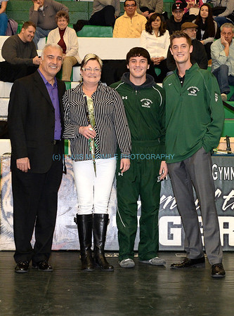 SPHS - Wrestling - Senior Night - Jan.28, 2014
