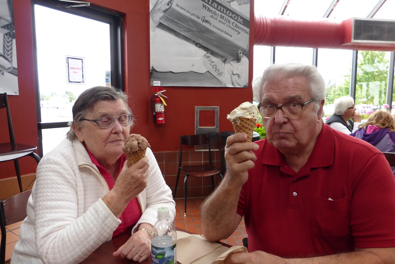 Momma had the Mudslide and Pop had Cookies and Cream.