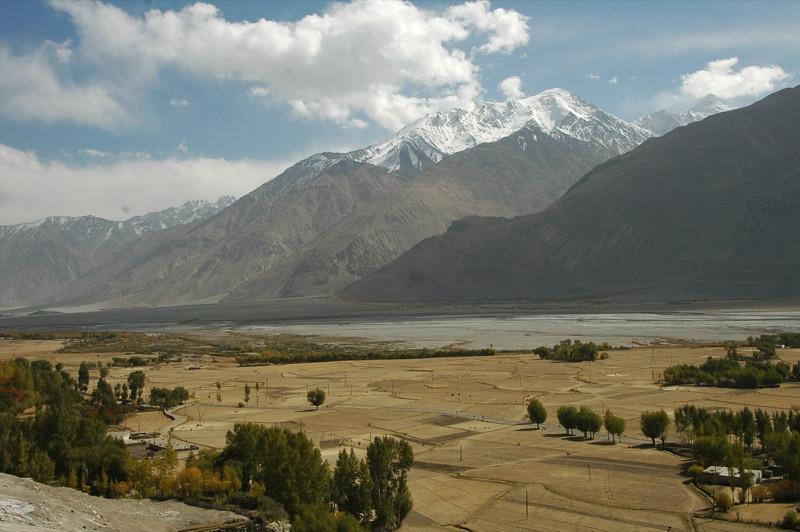 Mountain Scenery in Vrang - Pamir Mountains, Tajikistan