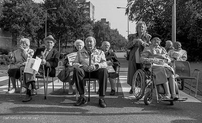 Demonstraties-Actie Zorgen om Zorg 1993 Paddepoel