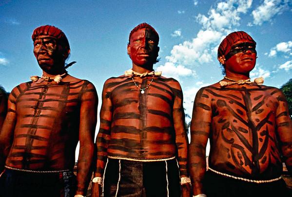 Xavante Tribe- Mato Grosso, Brazil.