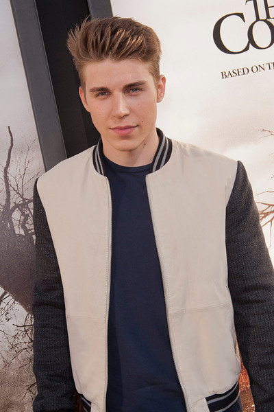 HOLLYWOOD, CA - JULY 15: Actor Nolan Gerard Funk arrives at the Los Angeles Premiere 'The Conjuring' at ArcLight Cinemas Cinerama Dome on Monday, July 15, 2013 in Hollywood, California. (Photo by Tom Sorensen/Moovieboy Pictures)