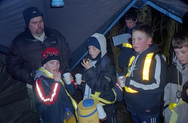 Night Hike with 16th Bermondsey 2005