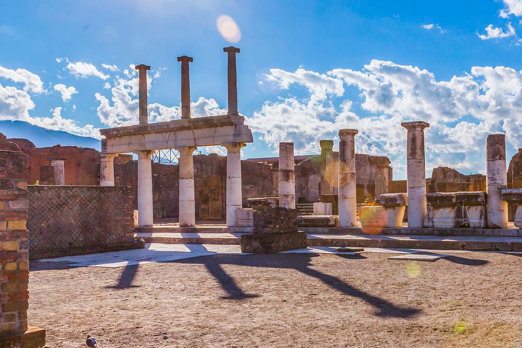 意大利一世纪古城庞贝,无声的述说