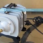 SKU: AG-AIR/40, Generic 220V ~35W Magnetic Piston Air Pump, ACO-002 0.03Mpa 40L/min for TruCUT Lite Desktop