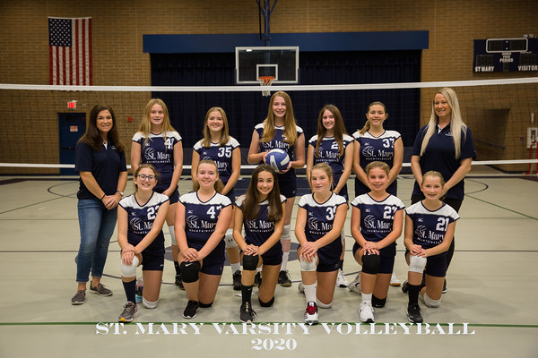 St. Mary Volleyball Varsity 2020