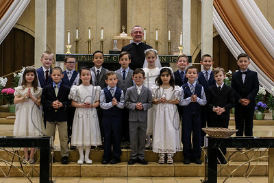 Fist Communion 2019 Individual, Family & Group