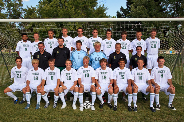 Men's Soccer, Team Photos '09