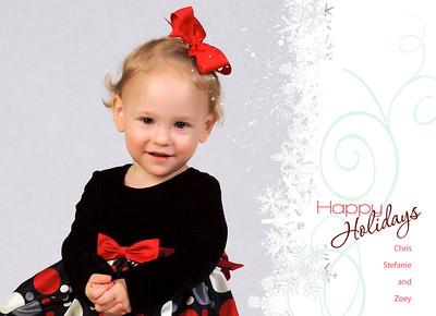 Zoey Christmas 2011