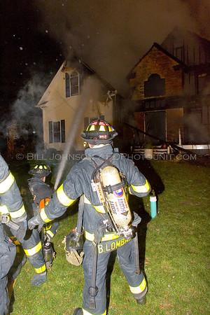Structure Fire - Hillcrest Court - New Hackensack Fire District