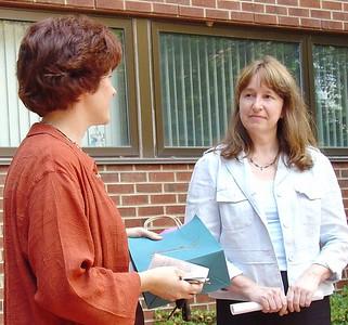Linda's Reception, June 9, 2004