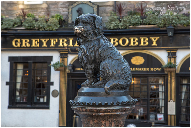 Greyfriars Bobby statue, Candlemaker Row
