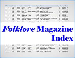 folkloreindex