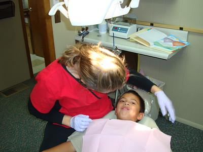 2010-09-09 AJ & Dylan Dentist