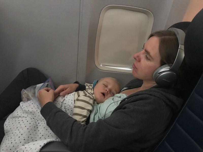 Flying to Kauai