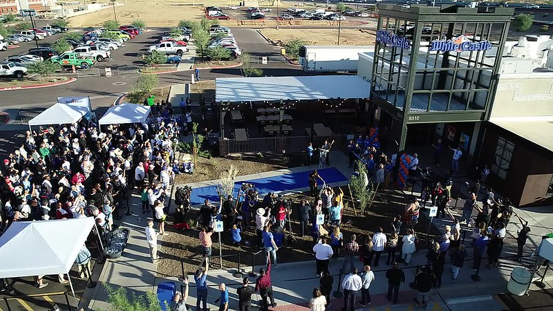 White Castle Grand Opening Drone Video