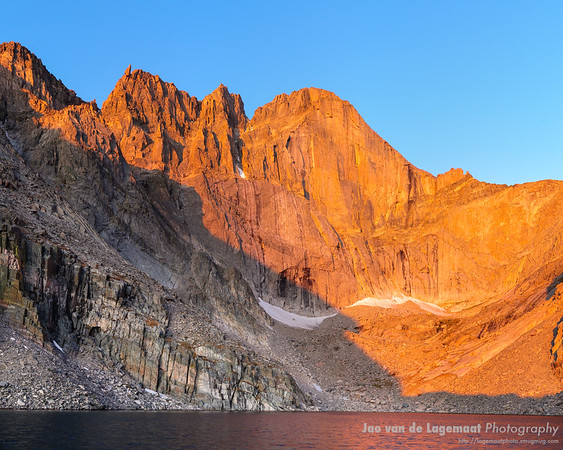 Chasm Lake sunrise